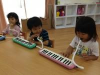 20130514初めての鍵盤ハーモニカ