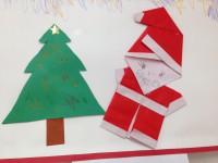 20131210クリスマス折り紙2