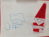 20131210クリスマス折り紙3